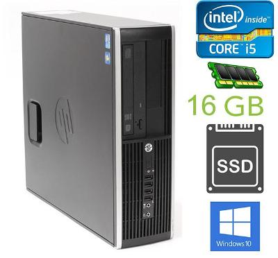 HP 6200 SFF: INTEL i5/ 16GB/ SSD 240GB/ WIN10/ záruka,faktura