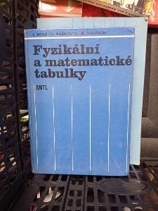 Fyzikální a matematické tabulky