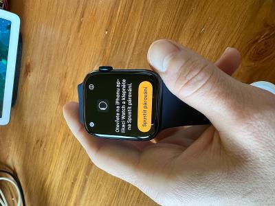 Apple Watch Series 6 Cellular 44 mm - modrý hliník