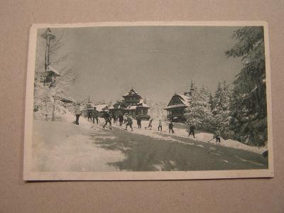 Frenštát pod Radhoštěm - Pustevny - zimní sporty