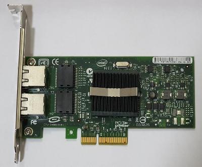 Intel Pro/1000 PT Dual Port Server - síťová karta s 2x1Gbps LAN