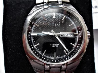 Náramkové hodinky Prim Quartz Saphire s krabičkou-*6-348