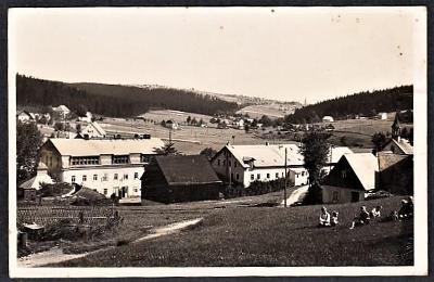 (O. CHOMUTOV) ČERNÝ POTOK PLEIL SORGENTHAL FOTO MAYER PRESSNITZ 1933