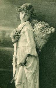 Přání - Dívka s nůší