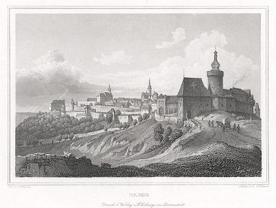 Tábor, Lange, oceloryt, 1842