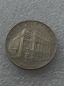 100 kčs Národní divadlo TOP stav mince - HLEDANÁ !!!