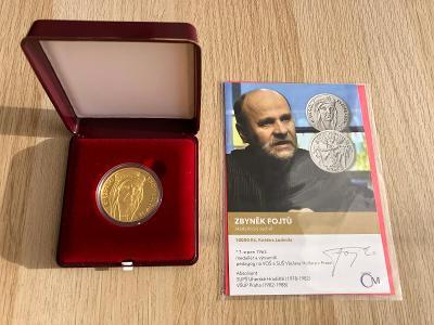 Zlatá mince 10000 Kč 2021 Kněžna Ludmila proof