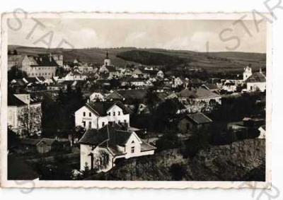 Horšovský Týn Domažlice částečný záběr města