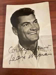 Jean Marais autogram