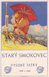 V.TATRY - STARÝ SMOKOVEC - 150 LET -244-SQ68
