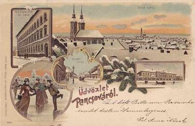 PANČEVO - LITHOGRAFIE - 246-SQ30