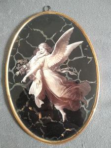 Svatý obrázek věnovaný dceři Aloise Jiráska, Boženě Jiráskové - 1888