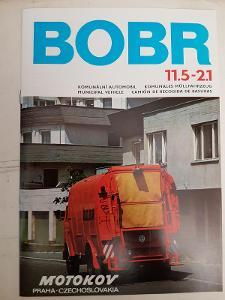 Škoda- Liaz- Bobr 11,5-2,1 - komunální automobil - dobový prospekt