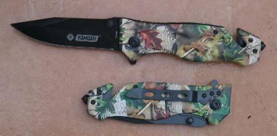 Zavírací záchranářský nůž Kandar REALTRE