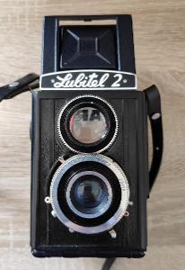 Funkční zrcadlovka Lubitel 2 + černobílý film