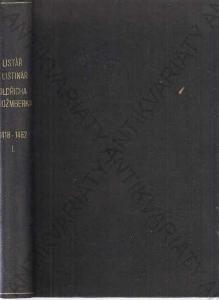 Listář a listinář Oldřicha z Rožmberka  4 svazky