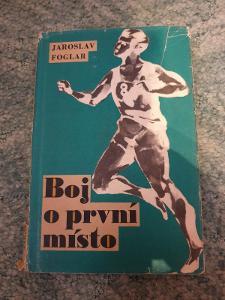 Kniha Jaroslav Foglar-Boj o První Misto