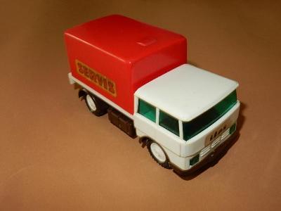 Ites - nákladní auto na setrvačník - servis
