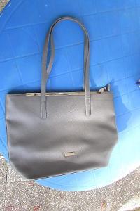 2x kabelka - černá a šedá