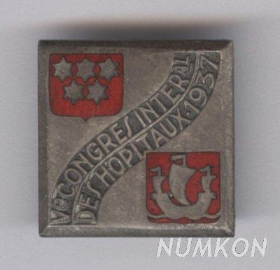 Francie klopový odznak V. Congres International d