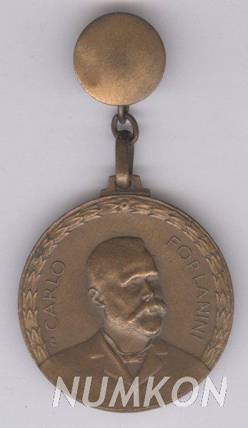 Itálie klopový odznak Carlo Forlanini VI.Confere