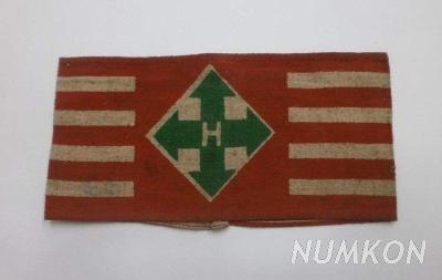 Maďarsko (1939-1945) Rukávová páska Strany