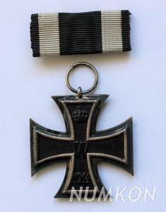 Německo Železný kříž II. třídy 1914, zna