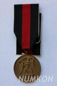 Německo III. říše medaile 1. říjen 1938 (Sud
