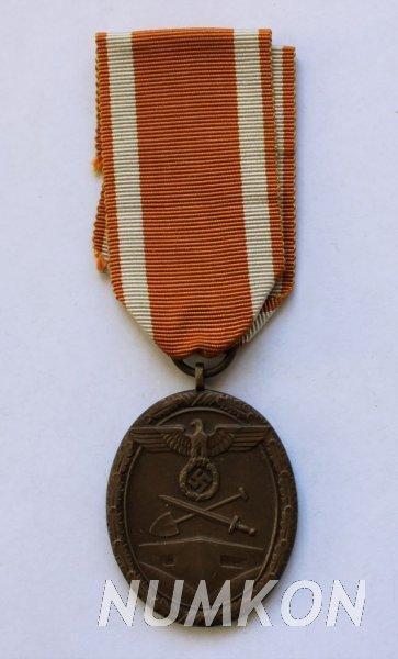 Německo III. říše Vojenský odznak pro stavite