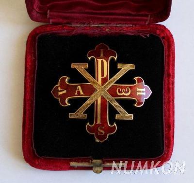 Sicilské království Velkokříž Konstantinov