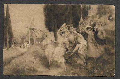Ženy, slavnost, E. Leeke : Eldorado, ca 1910