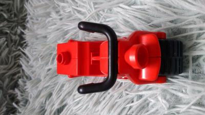 Lego dulo Motorka červená