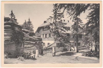 Šumava - Třístoličník, Dreisesselberg, Hotel 1925