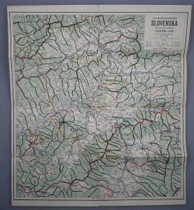 SLOVENSKO SEVEROZÁPAD - Žilina, Rajec - Turistická mapa