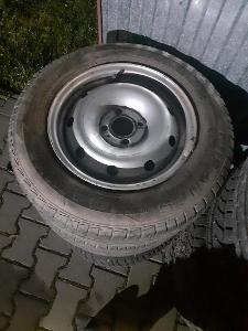 3ks kolo plech Dacia Logan s pneu
