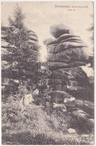Šumava, Bavorský les - Třístoličník, Dreisesselberg - prošlá 1918