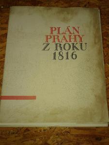 Plán Prahy z roku 1816