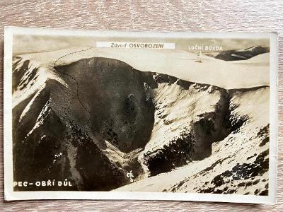Krkonoše - Pec - Obří důl
