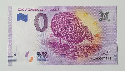 0 Euro Souvenir ZOO a zámek Zlín - Lešná . 2020 , CZAK007511