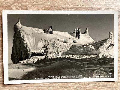 Krkonoše - Pruská chata na Sněžce