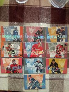 Rising stars ultra fleer 95/96 kompletni set