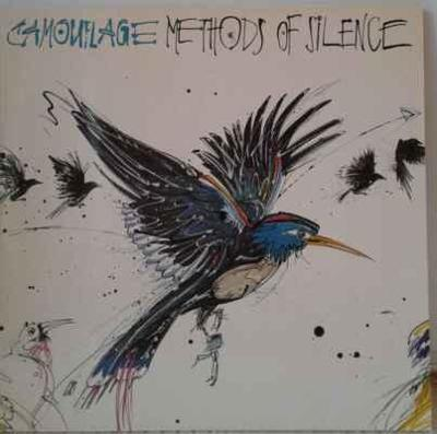 LP Camouflage - Methods Of Silence, 1989 EX