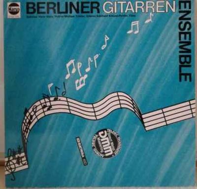 LP Berliner Gitarrenensemble - Berliner Gitarrenensemble EX