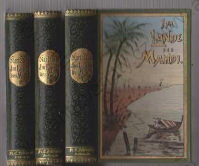Im Lande des Mahdi Karl May 3 Bände Fehsenfeld