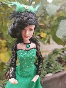 Panenka Barbie Evanora Disney - Čaroděj ze země OZ