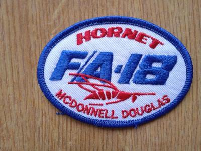 nášivka USA F/A 18 Hornet