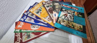 Rychlé Šípy 1968 Puls Ostrava Foglar Rychlé Šípy 1-7 + bonus