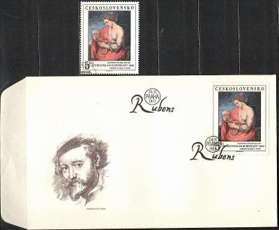V9604   - FDC obálka prvního dne vydání + známky navíc