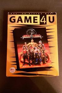 Stará hra na PC Mortal Kombat 4