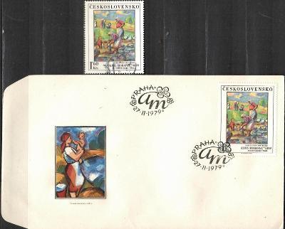 V9648   - FDC obálka prvního dne vydání + známky navíc